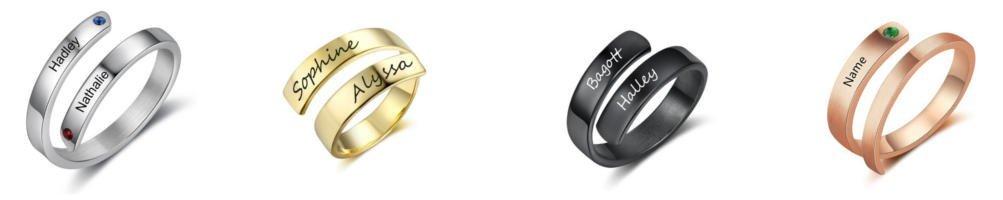 Spersonalizowane pierścionki